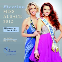 Election Miss Alsace 2012