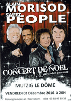 Concert de Noël des SWEET PEOPLE